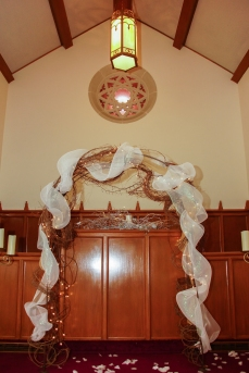 Winter Wedding - Arch