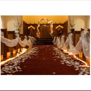Winter Wedding - Church