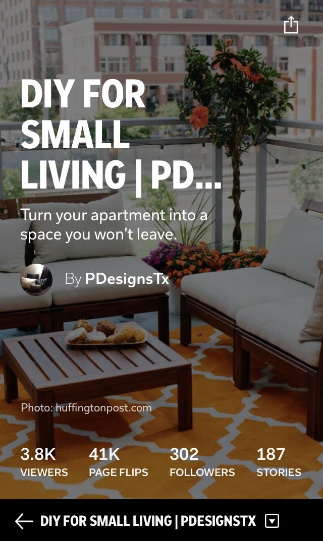 DIY for Small Living - Flipboard Magazine